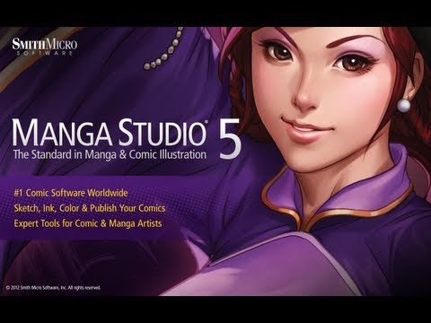 tutorial de manga studio ex 4 serial number