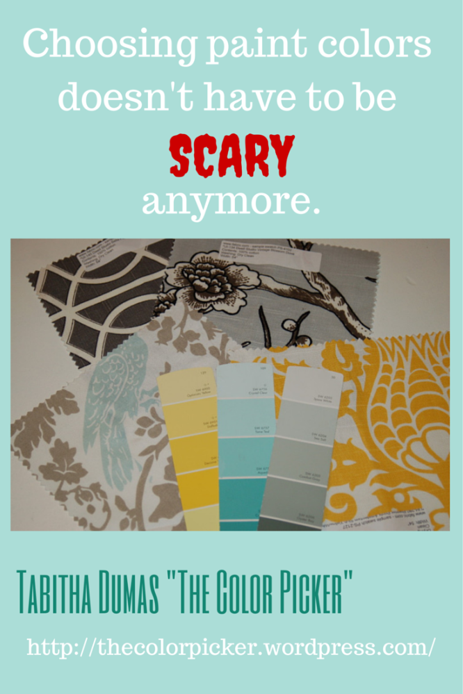 choosing paint colors doesn't have to be scary anymore! The ColorPicker Tabitha Dumas