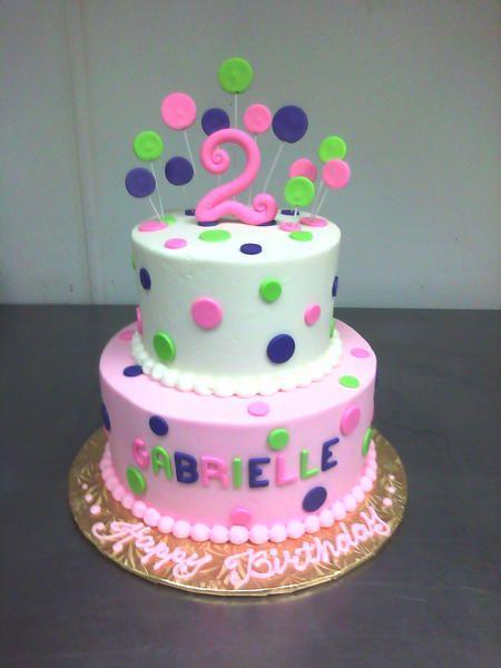 2 Year Old Birthday Cake : birthday, Cakes, Google, Search, Girls, Birthday, Cake,, Girls,, Toddler