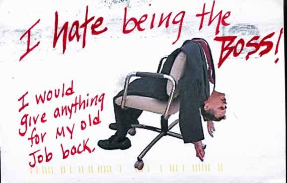 PostSecret: Old job