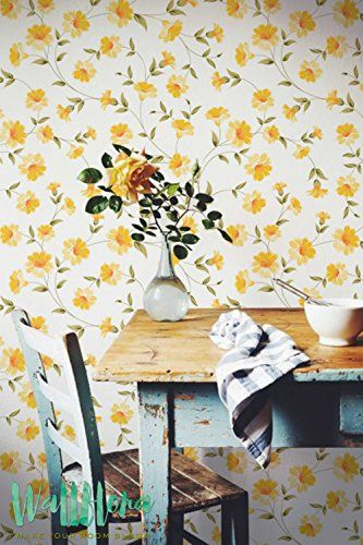 Petunia Flower Pattern Wallpaper Petunia Removable Wallpaper Petunia Wall Sticker Petunia Wall Decal Petunia Self Adhesive Wallpaper *** Find out more about the great product at the image link.