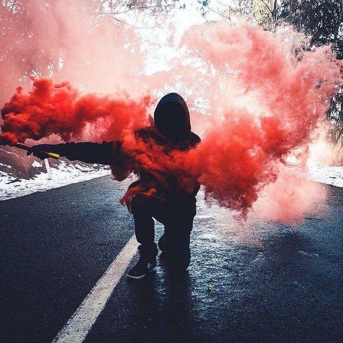 Крутые картинки дымом