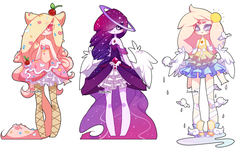 Adoptables Batch 15 CLOSED by on