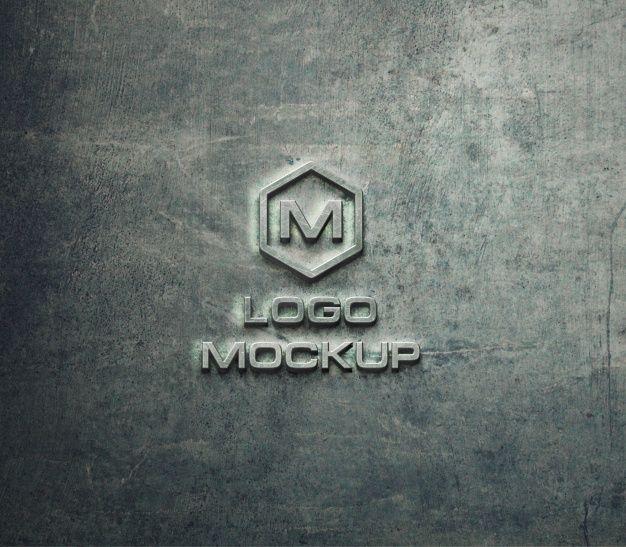 Download Freepik Graphic Resources For Everyone Logo Mockup Identity Design Logo Logos