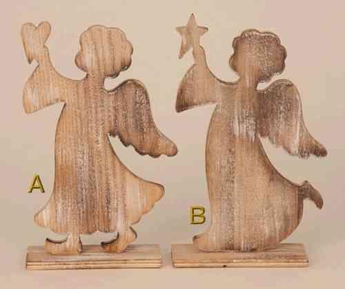 Holzengel stehend mit herz stern holzengel sterne und stehen - Holzarbeiten weihnachten ...
