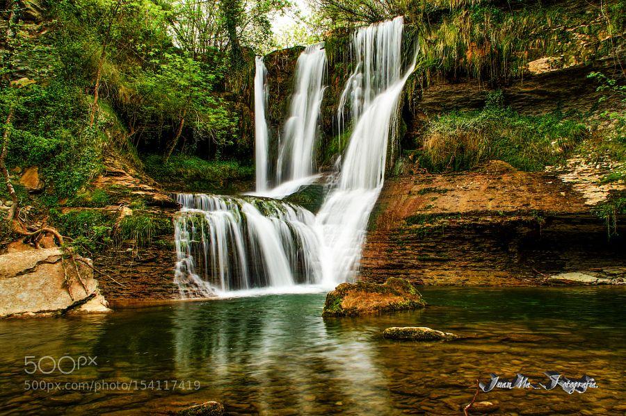 """Cascada de Peñaladros: Valle de Mena """"Burgos"""" by JuanManuelGarciaGarcia. @go4fotos"""