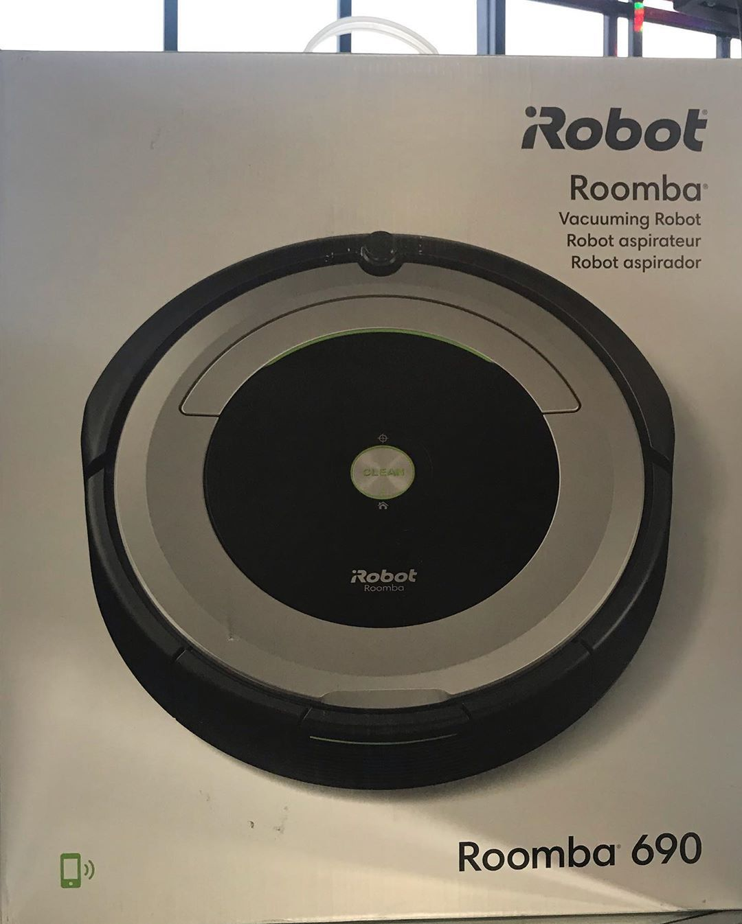 iRobot Roomba 690 vacuumwifi connectivity works with
