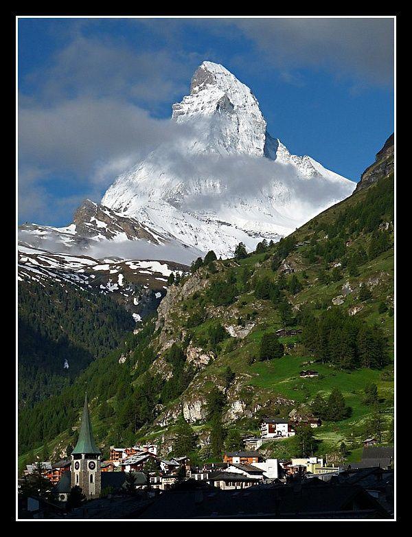The Toblerone view (The Matterhorn)