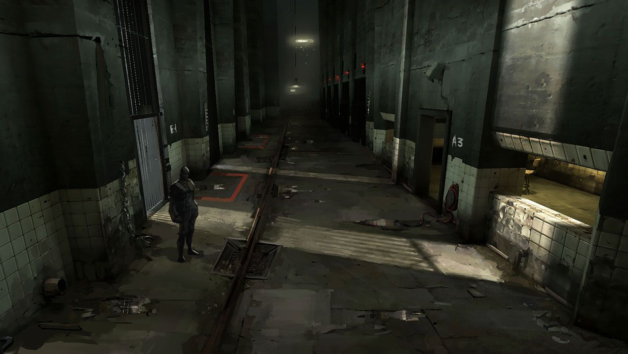 Prison Concept Pictures Characters Art Dishonored