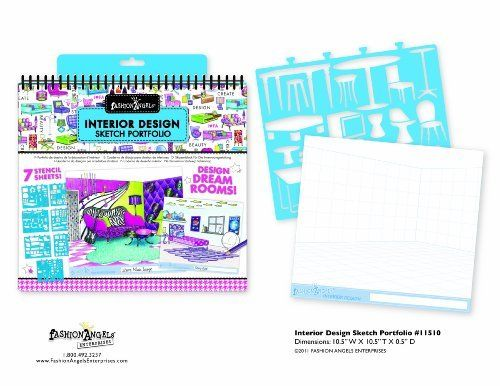Interior Design Sketch Portfolio httpwwwamazoncomFashion