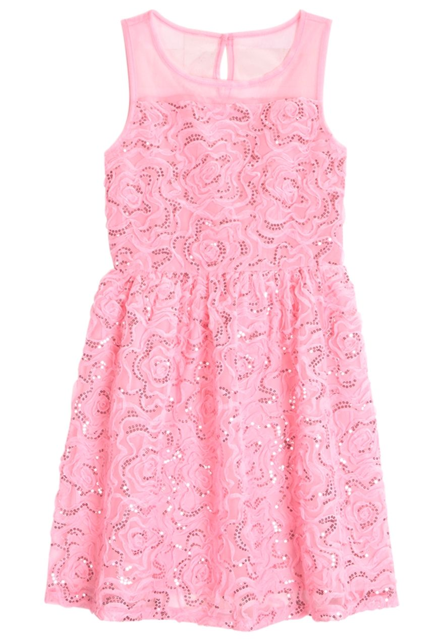 Embellished Lace Dress (original price, $44.90) available at #Justice