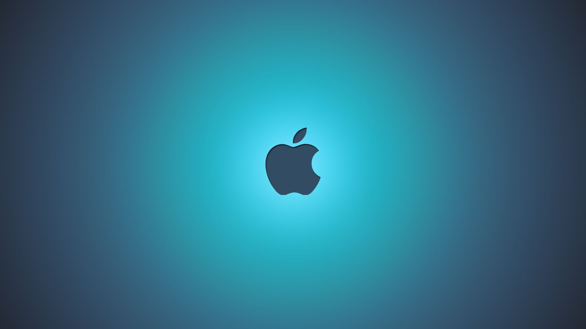 Apple Blue Background Wallpaper Desktop #6250 Wallpaper