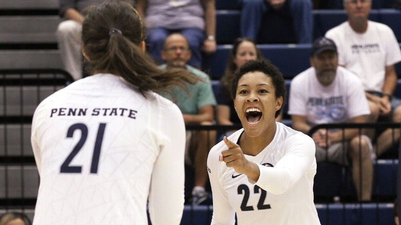Texas In Tough Spot In Ncaa Volleyball Bracket Penn State Volleyball Volleyball News Penn State