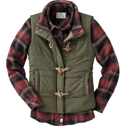 Ladies Quilted Vest | Legendary Whitetails