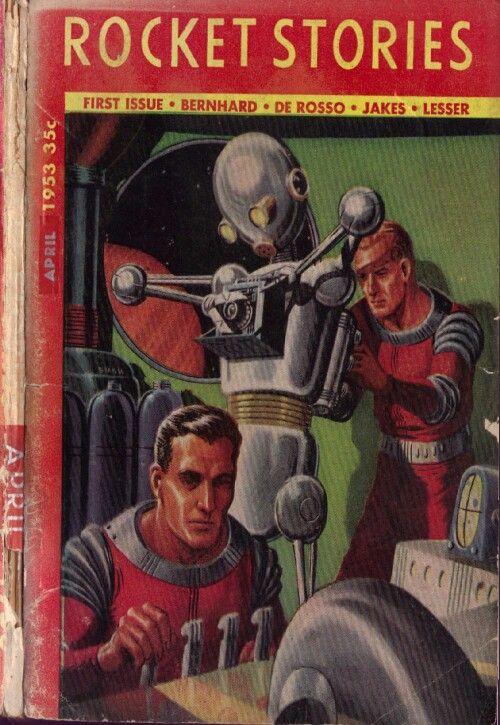 Rocket Stories, April 1953, pulp