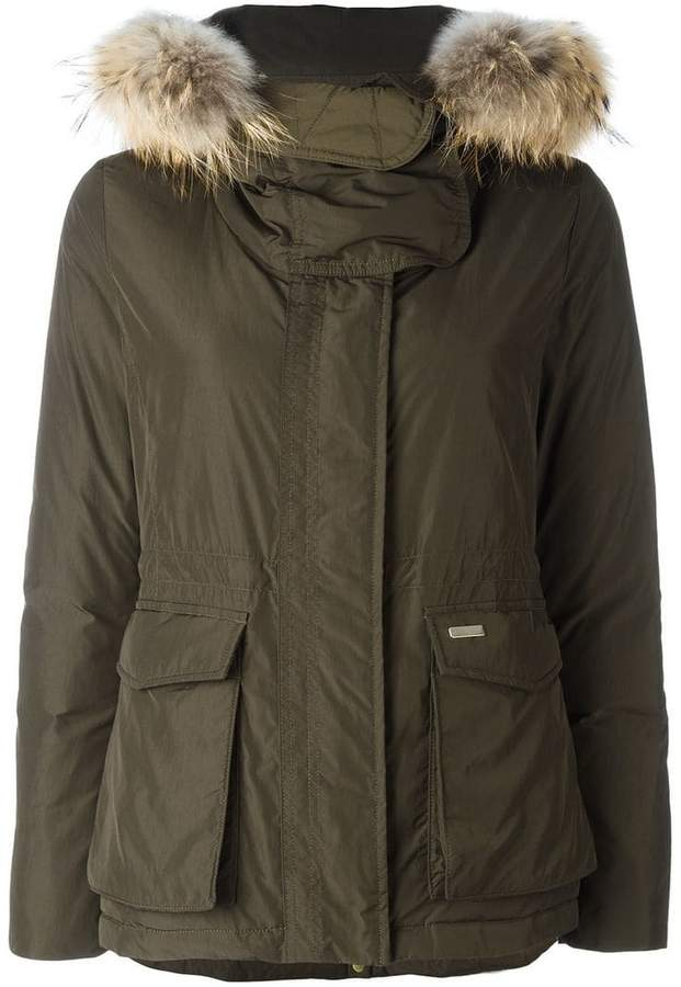 on sale bfe4d 84c17 Woolrich 'W's Short Military' parka coat | Products | Parka ...