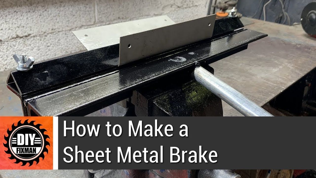 How To Make A Sheet Metal Brake Sheet Metal Brake Sheet Metal Sheet Metal Bender