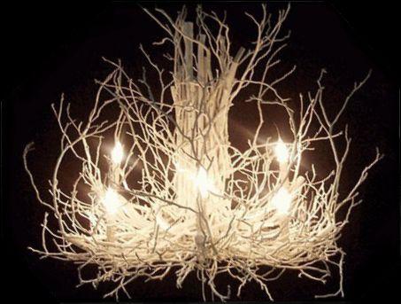 Twigs chandelier lights pinterest twig chandelier chandeliers twigs chandelier mozeypictures Images