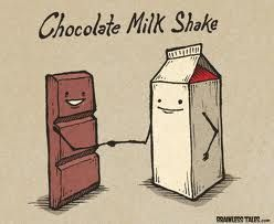 National Chocolate Milk Shake Day September 12th In 2020 Cute Cartoon Food Funny Puns Funny Cartoons