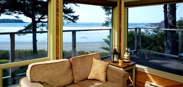 PACIFIC SANDS BEACH RESORT - TOFINO, VANCOUVER ISLAND