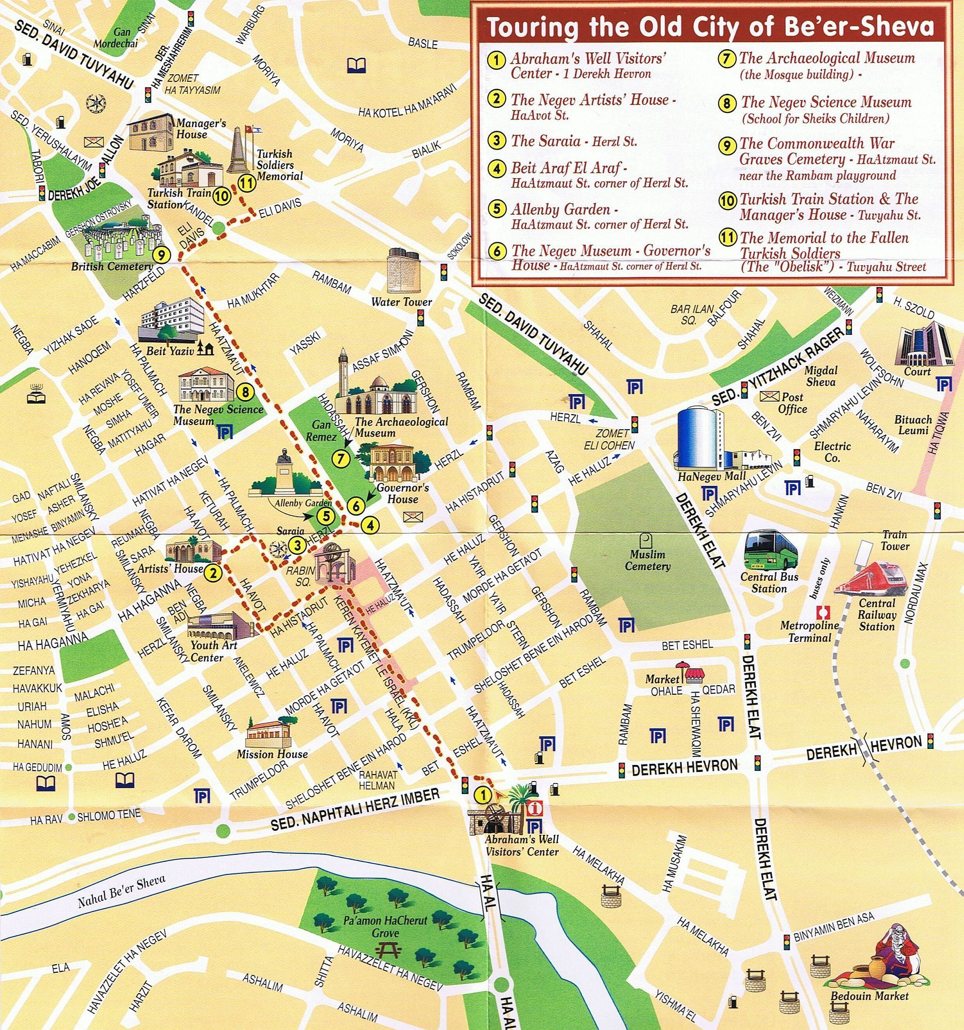 here we present you the maps of beer sheva. maps of beer sheva  israel and tour guide