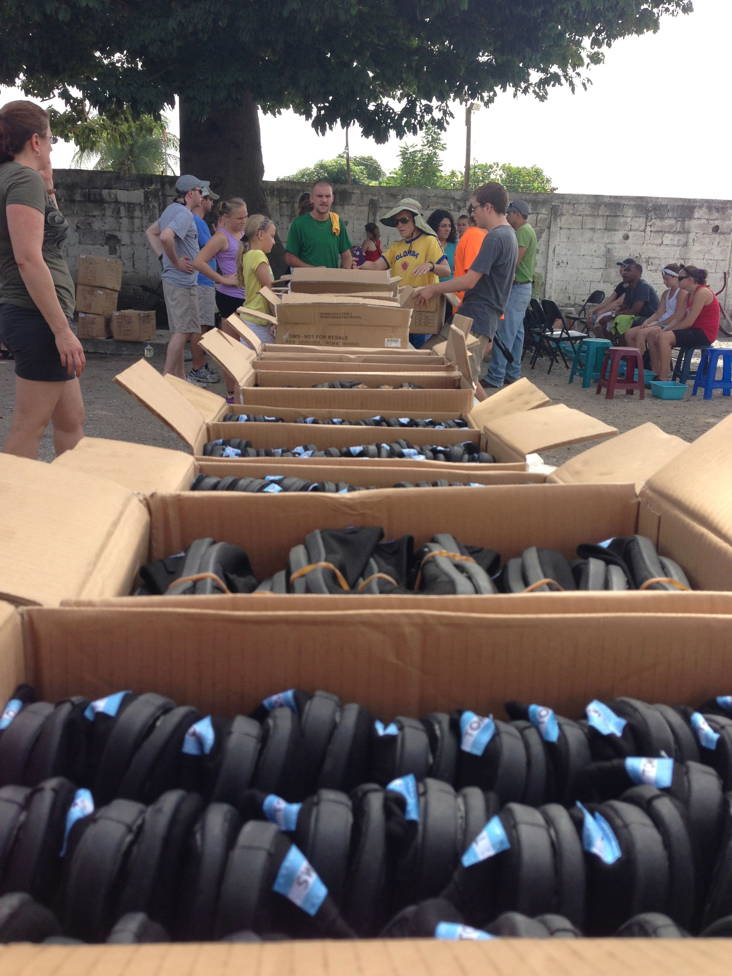 Hundreds of pairs of Toms where distributed throughout Zacapa, Guatemala.   #toms #guatemala #oneforone #buffalopeak #zacapa
