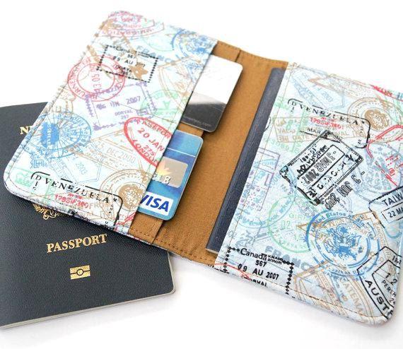 Handmade cover for passport unusual passport cover designer cover for documents