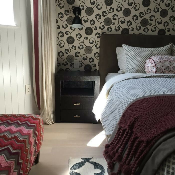 urban townhouse guest bedroom with curved front wall koo de kir rh pinterest com au Townhouse Bathroom Townhouse Floor Plans