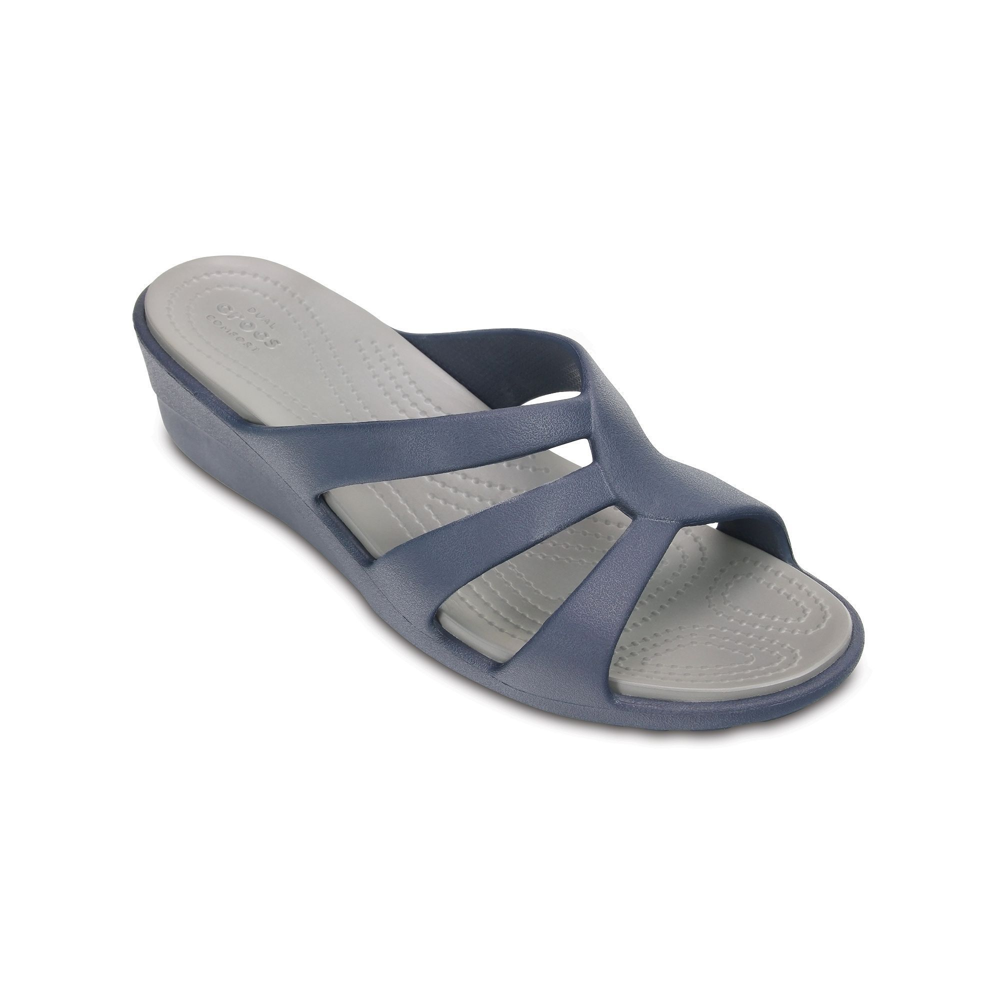 fe8a5299bad Crocs Sanrah Women s Strappy Wedge Sandals in 2019