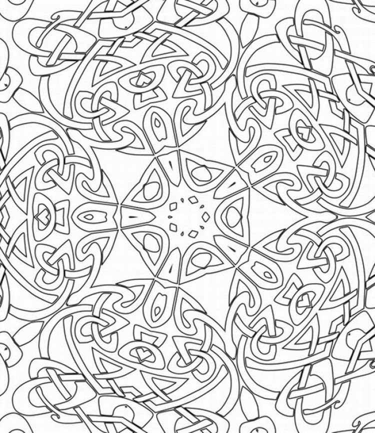 Detailed Coloring Pages For Adults free printable coloring pages