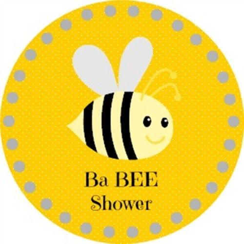 Free Printable Bumble Bee Cupcake Toppers