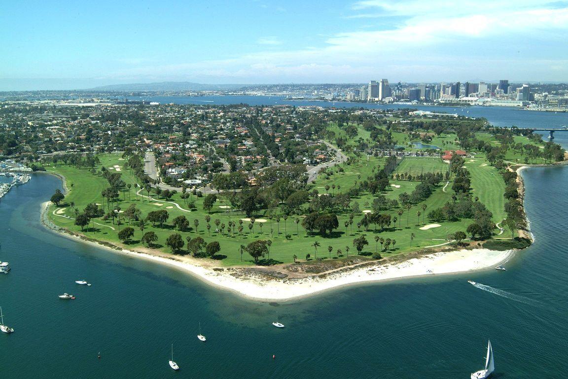 Coronado Municipal Golf Course Jack Daray 1957 Coronado Ca Coronado Island Golf Courses Coronado