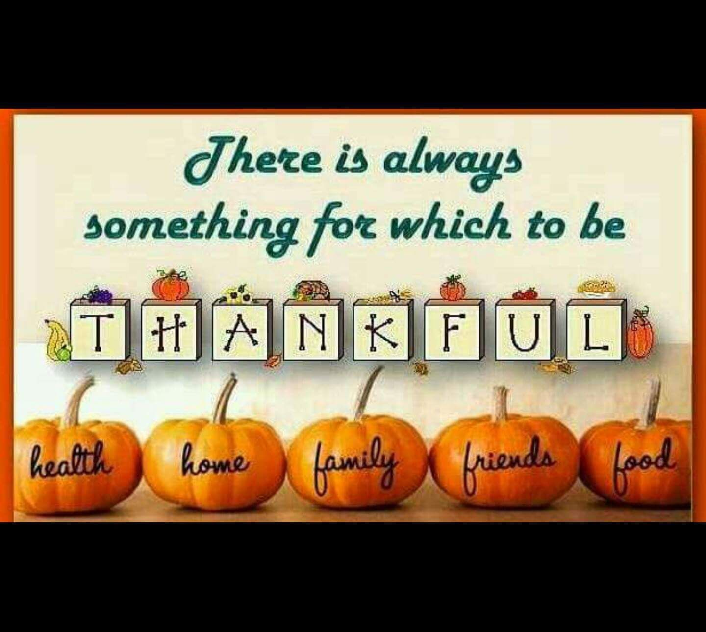 Things To Be Thankful For Thanksgiving
