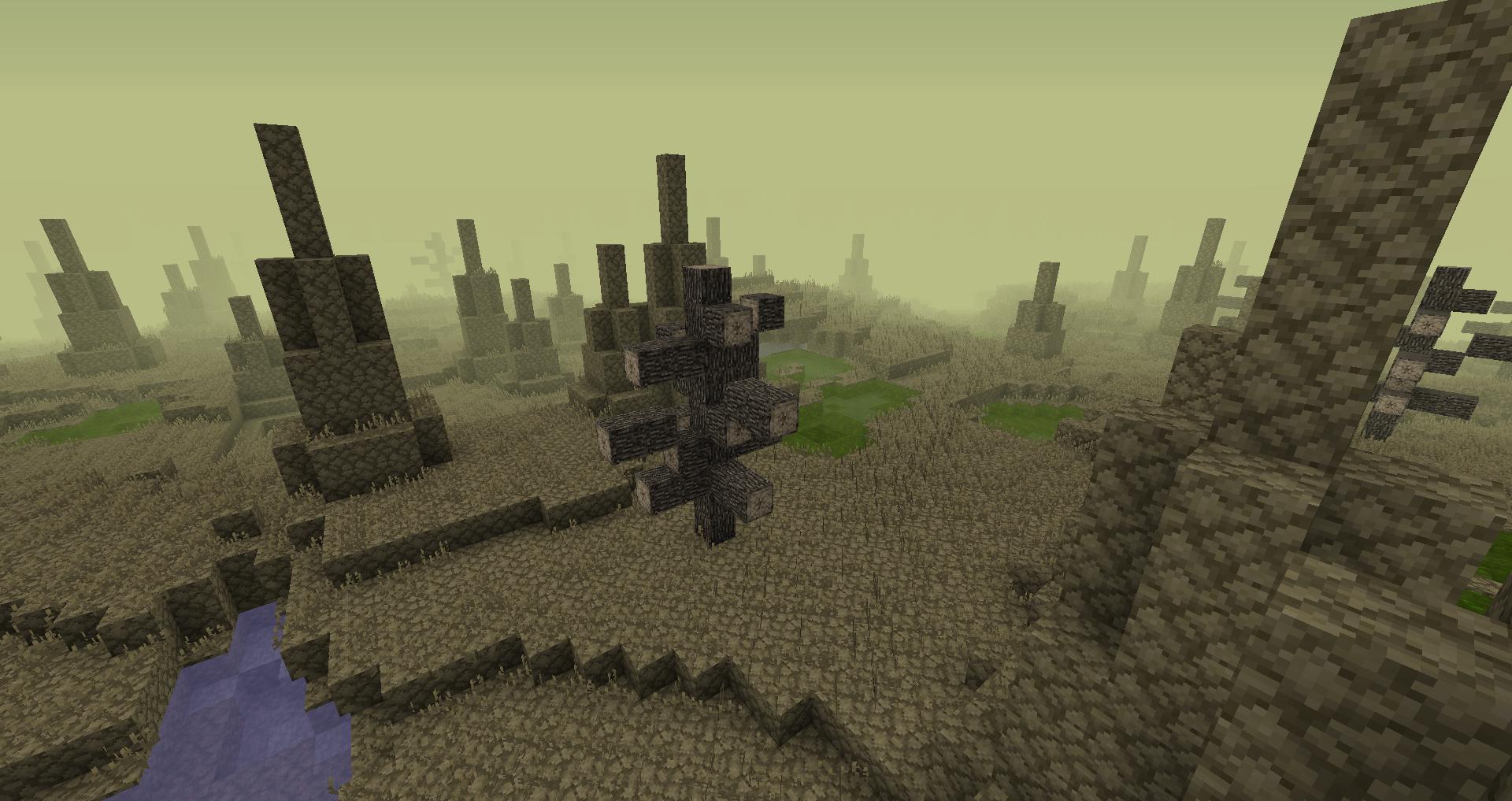 Wasteland  Wasteland, Minecraft art, Biomes