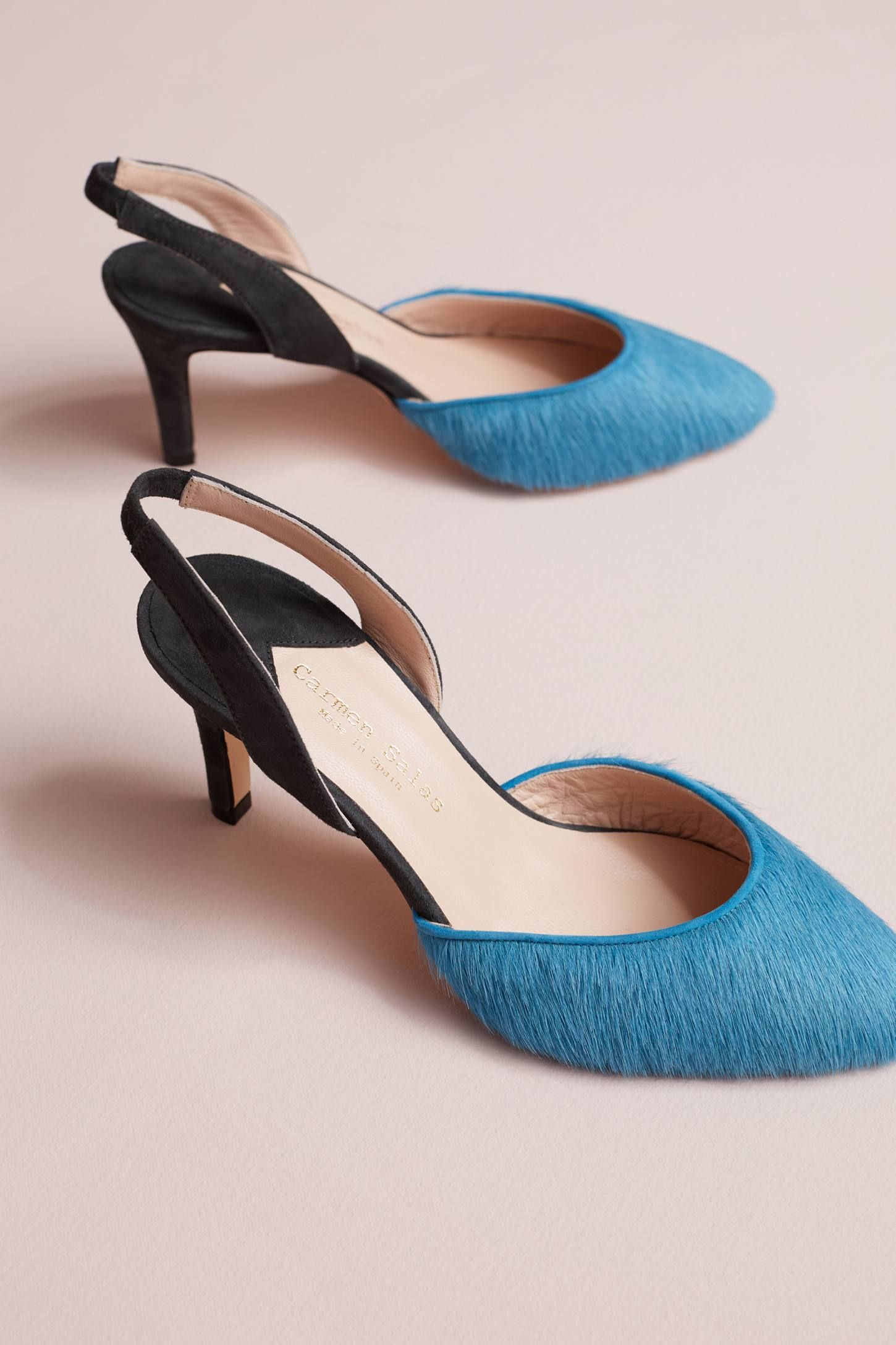 eb0ac3d25a7 Shop the Carmen Salas Victoria Slingback Pumps and more Anthropologie at  Anthropologie today. Read customer reviews