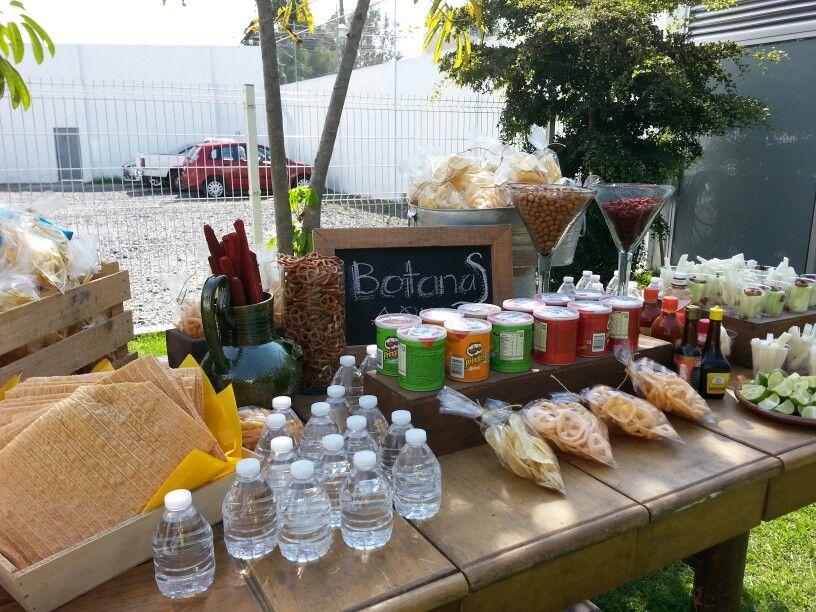 Barra De Botanas Sencilla Cooking Ideas Home Decor