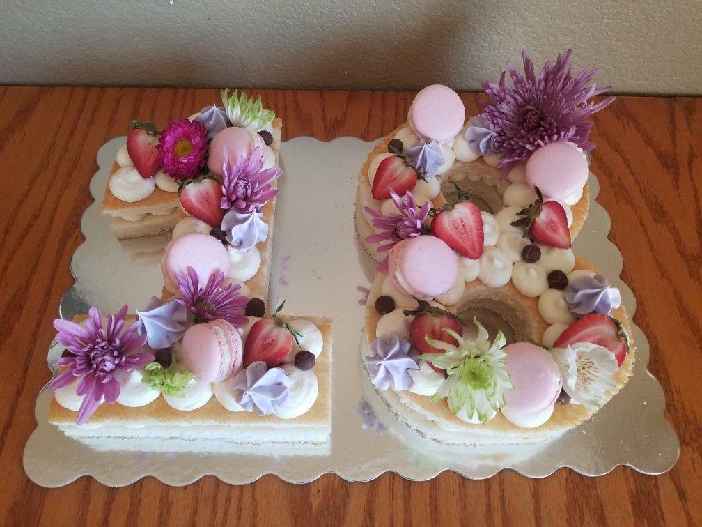 18th Birthday Cake Number Cake 18th Birthday Cake 18th Cake Anniversary Cake