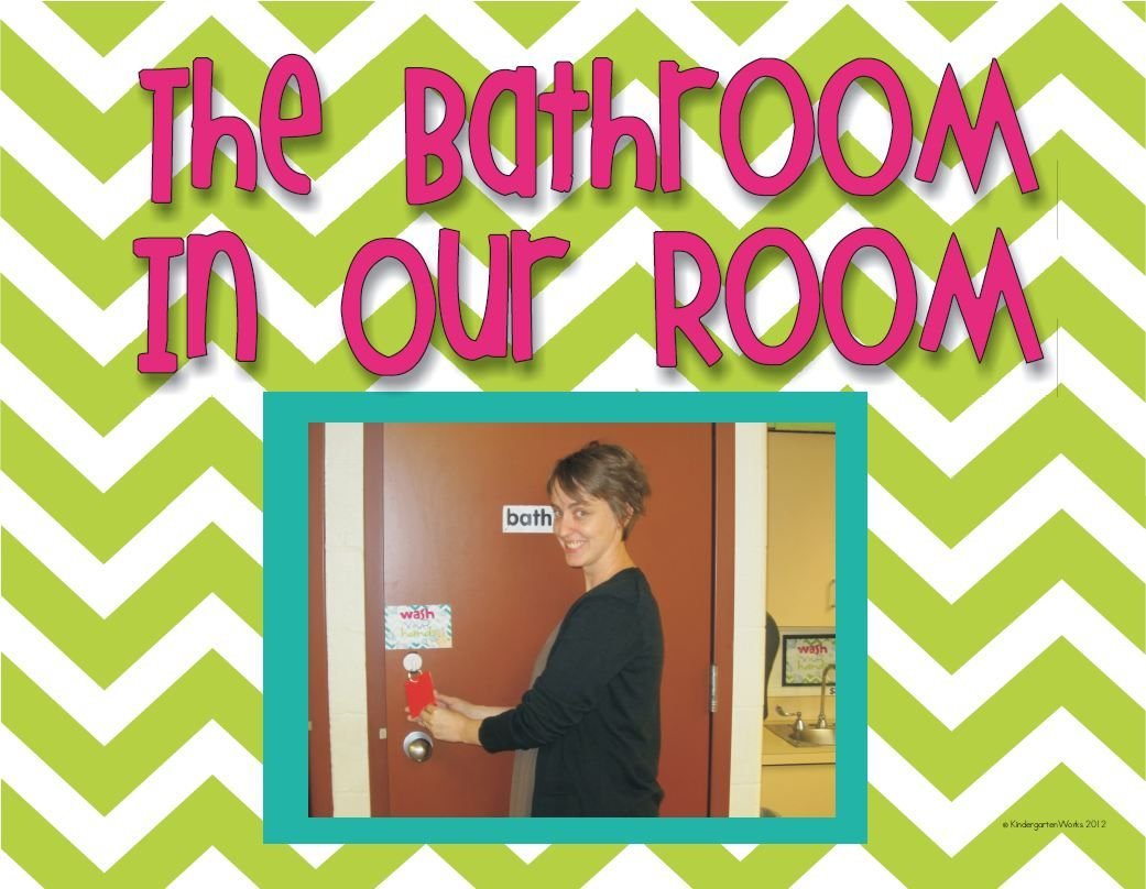 Classroom Bathroom Procedures Book Sample Printable Bathroom Procedures Kindergarten And School