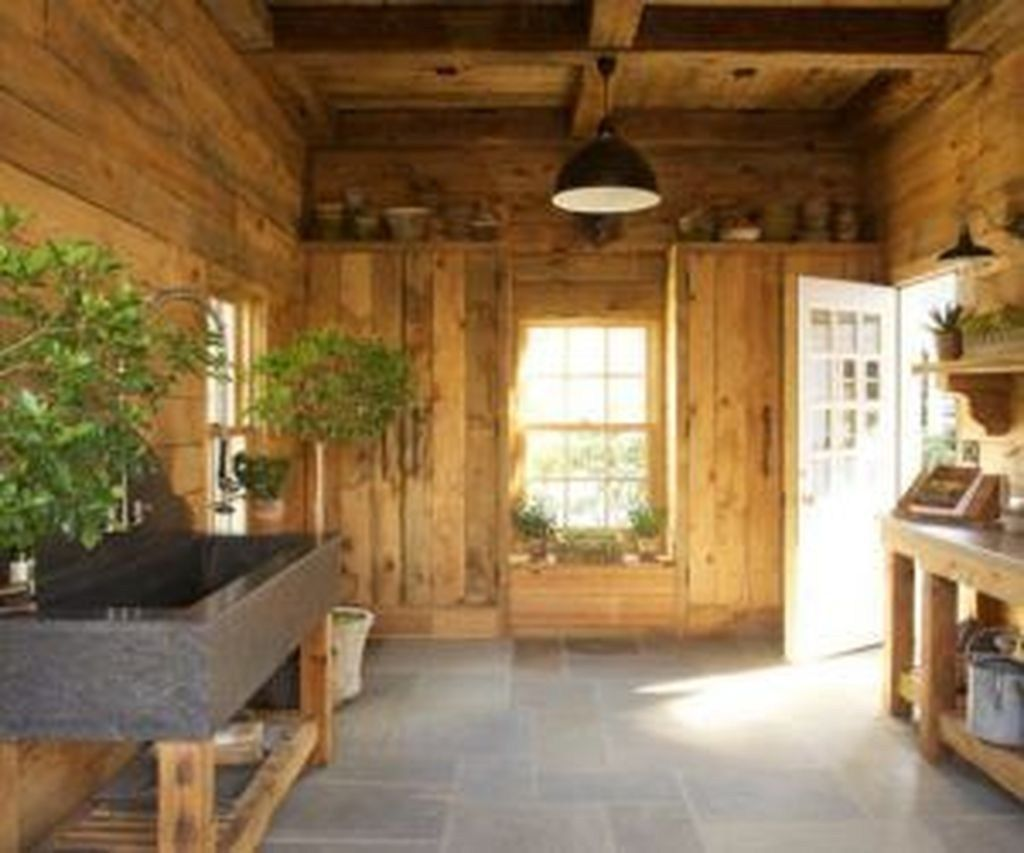 Awesome Shed Garden Plants Ideas33 Garden Shed Interiors