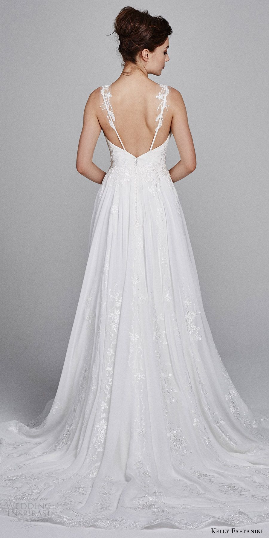 Aline wedding dress  Kelly Faetanini Fall  Wedding Dresses  wedding wear