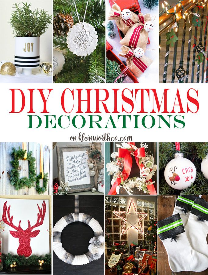 DIY Christmas Decorations are a beautiful way