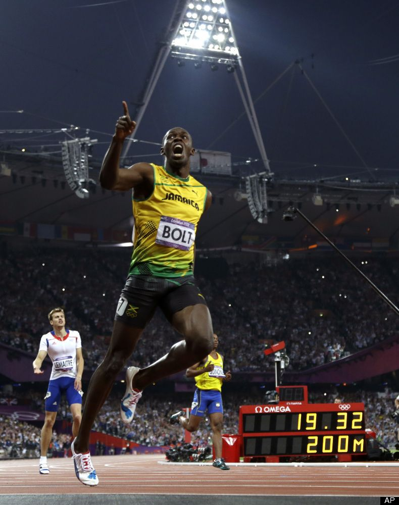 19.32 seconds London2012 | Usain bolt, Usain bolt running ...