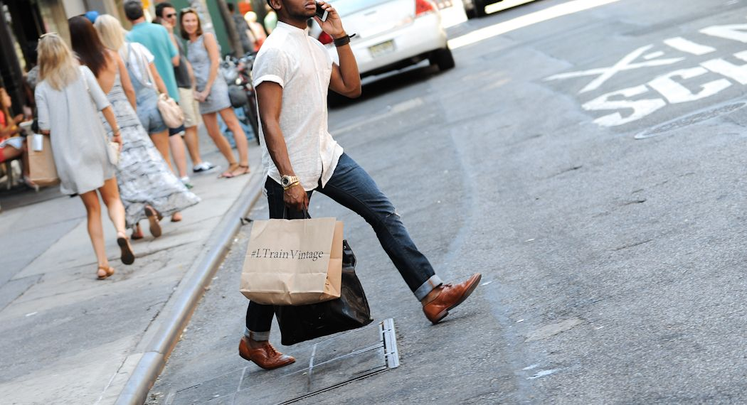 New York City Street Style: August 3, 2015 - Four Pins