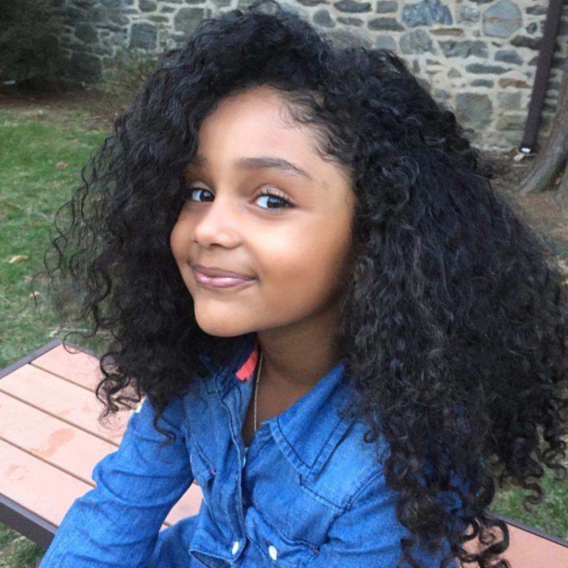 Black and Indian cutie #cutekidshairstyles | Baby ...