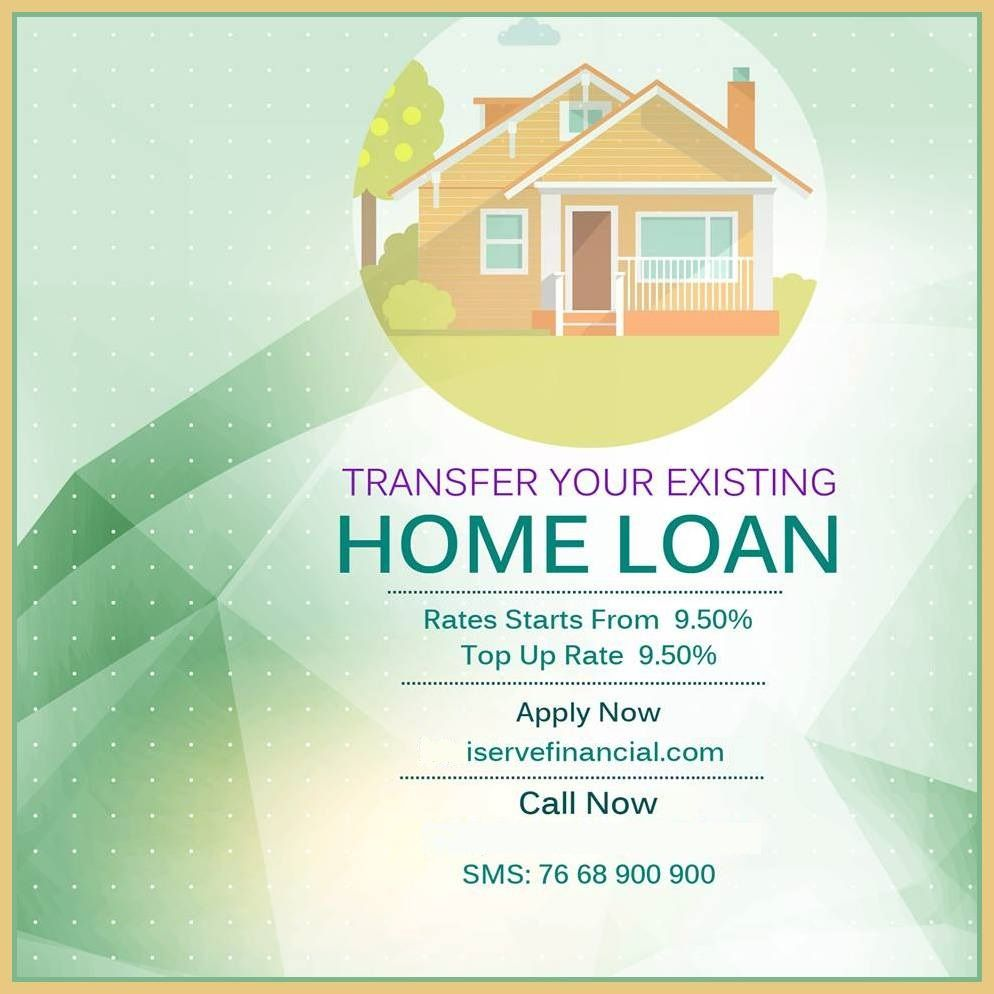Home Loan Balance Transfer Compare Apply From Top Bank 9 50 Interest Rate Https Www Iservefinancial Com Home Loan Home Loans Balance Transfer