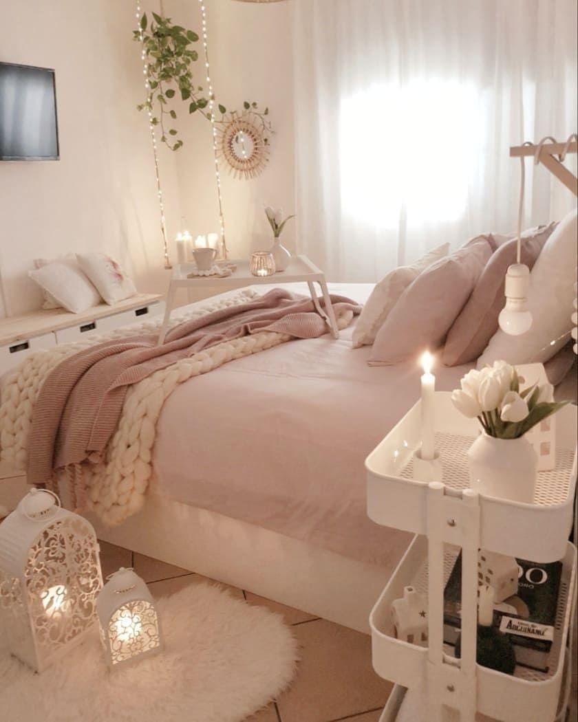 Photo of Welches Emoji beschreibt dieses Schlafzimmer am besten?   Sucht nach Boho Rom