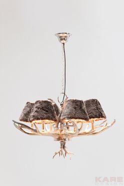 Pendant Lamp Huntsman 6 Branched At Kare Deer Antlers Light Pendant Wohnaccessoires Geweih Lampe Und Wohnen