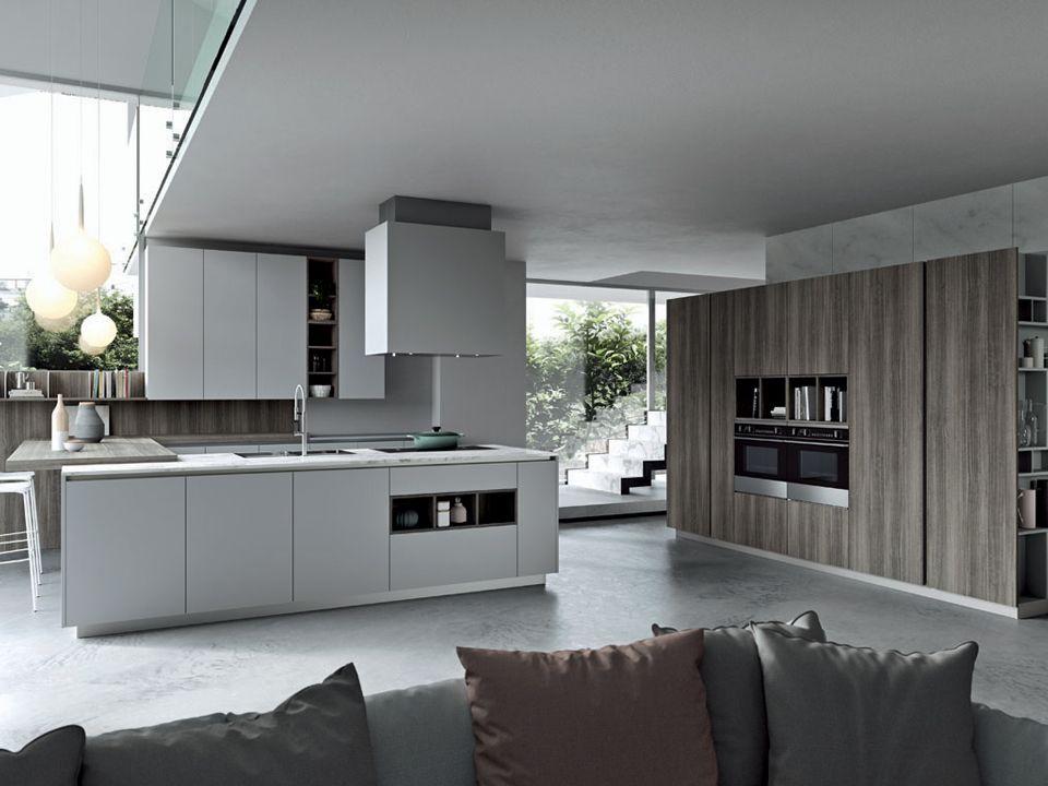 Modello Cucina O Simile Di Colore Grigio Chiaro O Bianco Kitchen Cabinets Home Home Decor