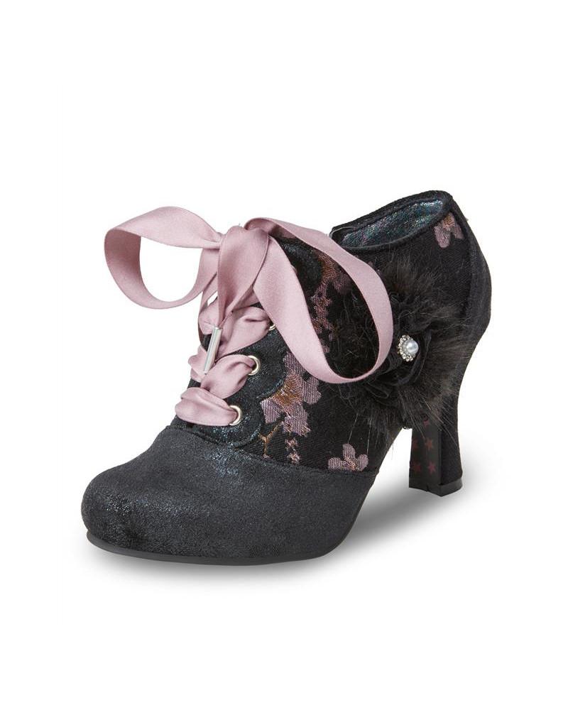Joe Browns Hermione Shoe Boots Vintage Style Footwear Lindy Bop Shoe Boots Irregular Shoes Boots