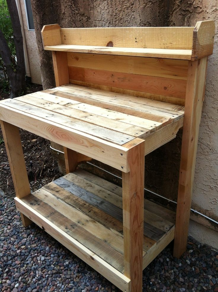 50 Best Potting Bench Ideas To Beautify Your Garden Benches